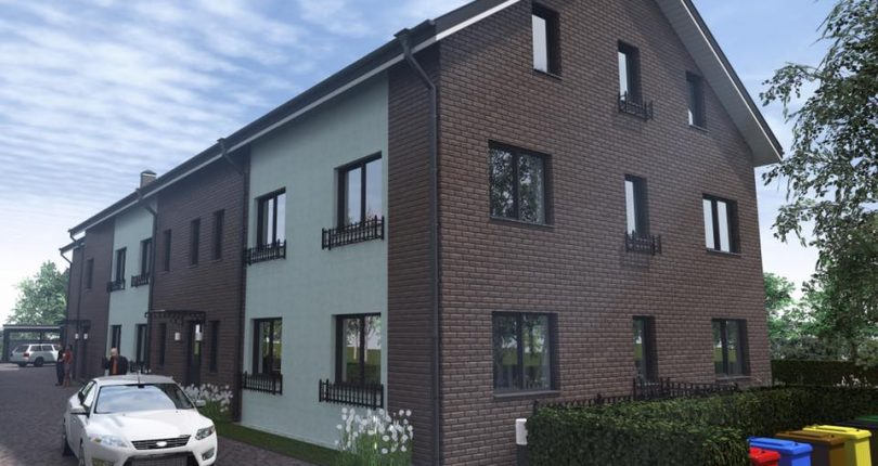 9 Eigentumswohnungen befinden sich momentan in der Bauphase in der Hamburger Straße 1